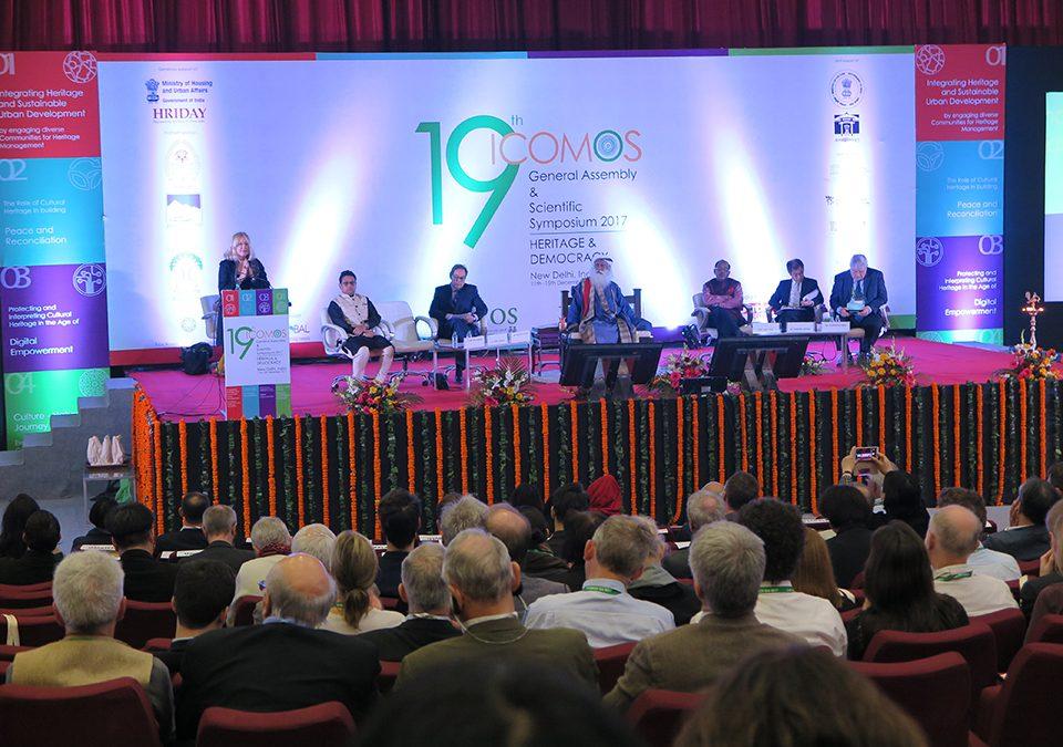 Generalna skupščina organizacije ICOMOS in znanstveni simpozij